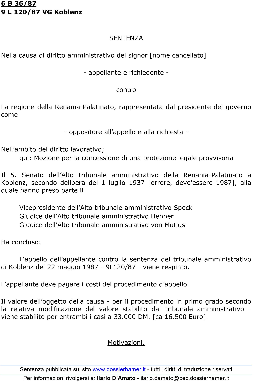 Coblenza 1987